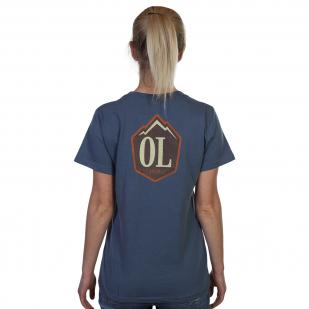Летняя женская футболка Outdoor Life.