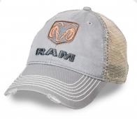 Летняя мужская бейсболка с логотипом Ram Trucks