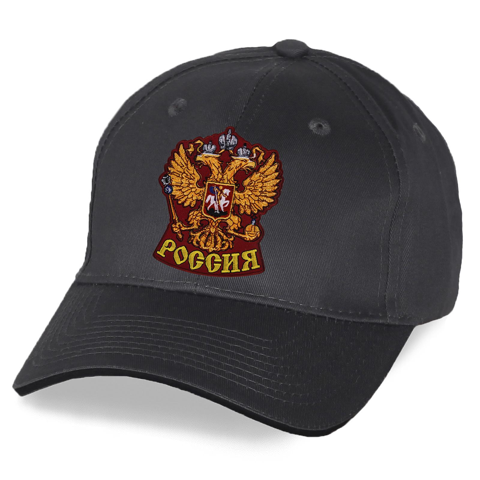 Летняя бейсболка с символикой России