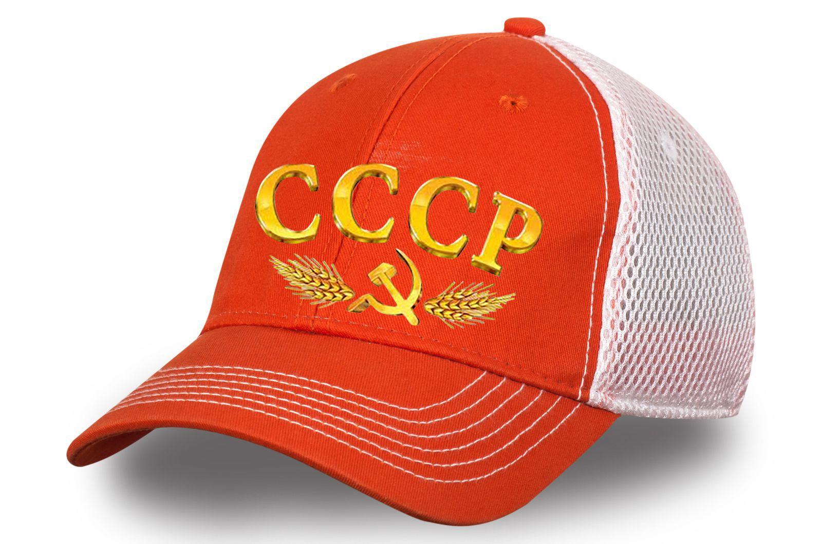 Летняя бейсболка СССР - купить онлайн с доставкой