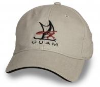 Летняя бежевая бейсболка Guam
