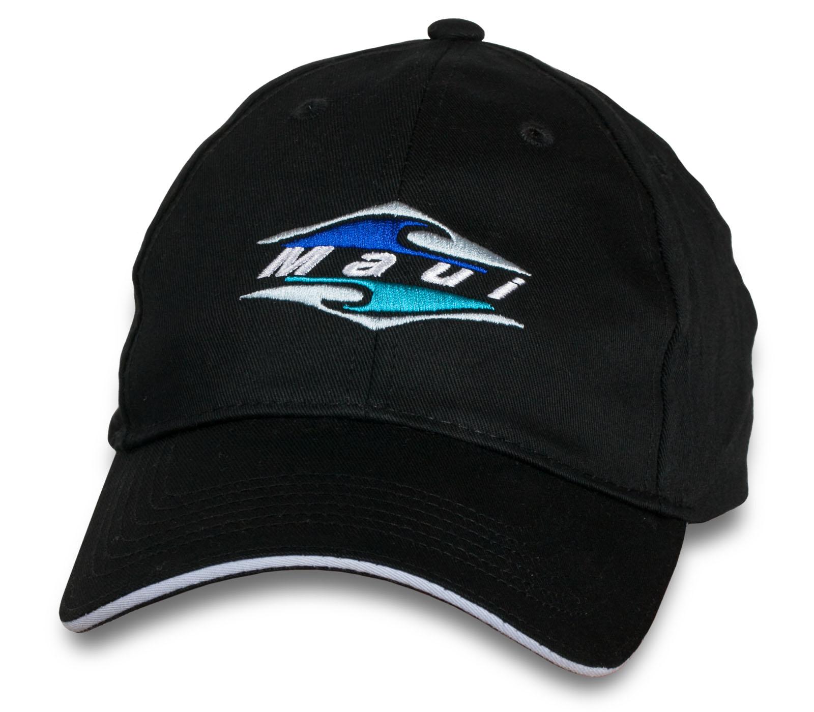 Летняя черная кепка Maui.