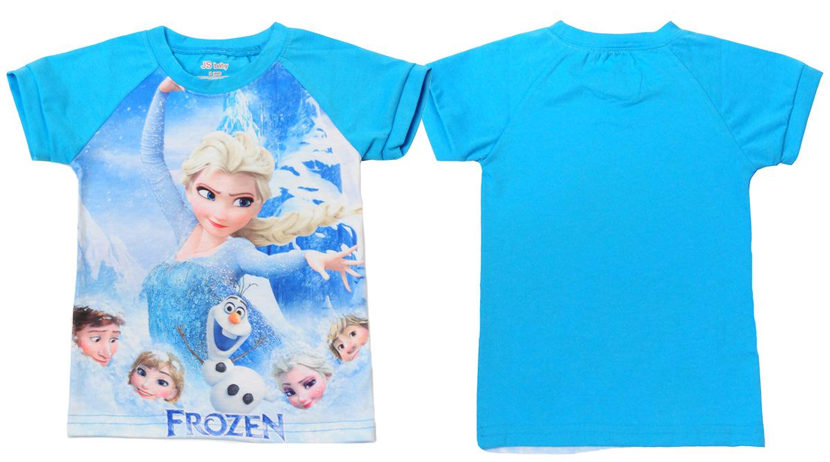 """Летняя футболка для девочки """"Elsa Frozen"""" с доставкой"""