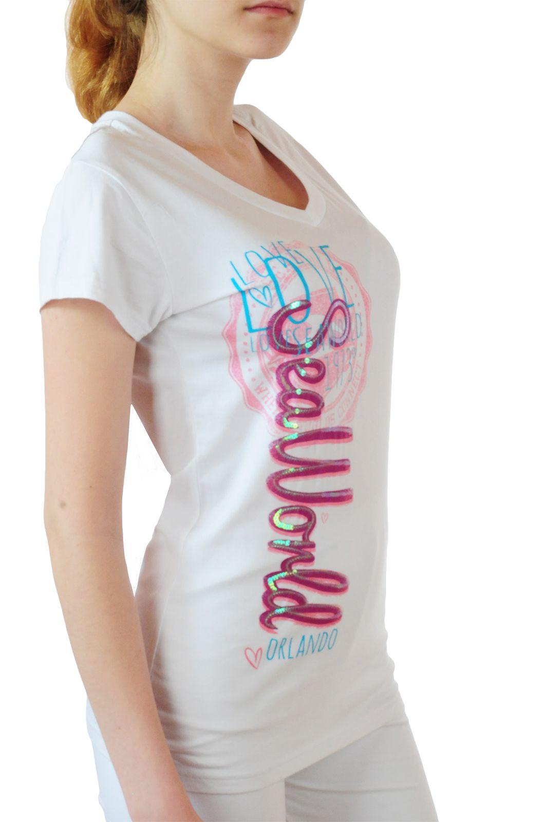 Летняя футболка Sea World - вид сбоку