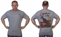 Мужская футболка Outdoor life