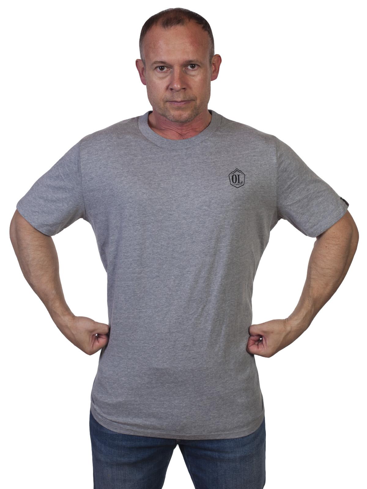 Мужская футболка Outdoor life - купить выгодно