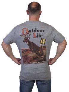 Мужская футболка Outdoor life - купить онлайн