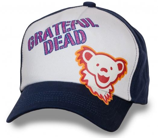 Летняя кепка-бейсболка Grateful Dead.