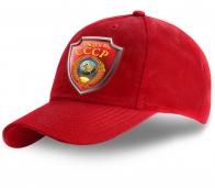 Летняя красная бейсболка Рожден в СССР - заказать в Военпро