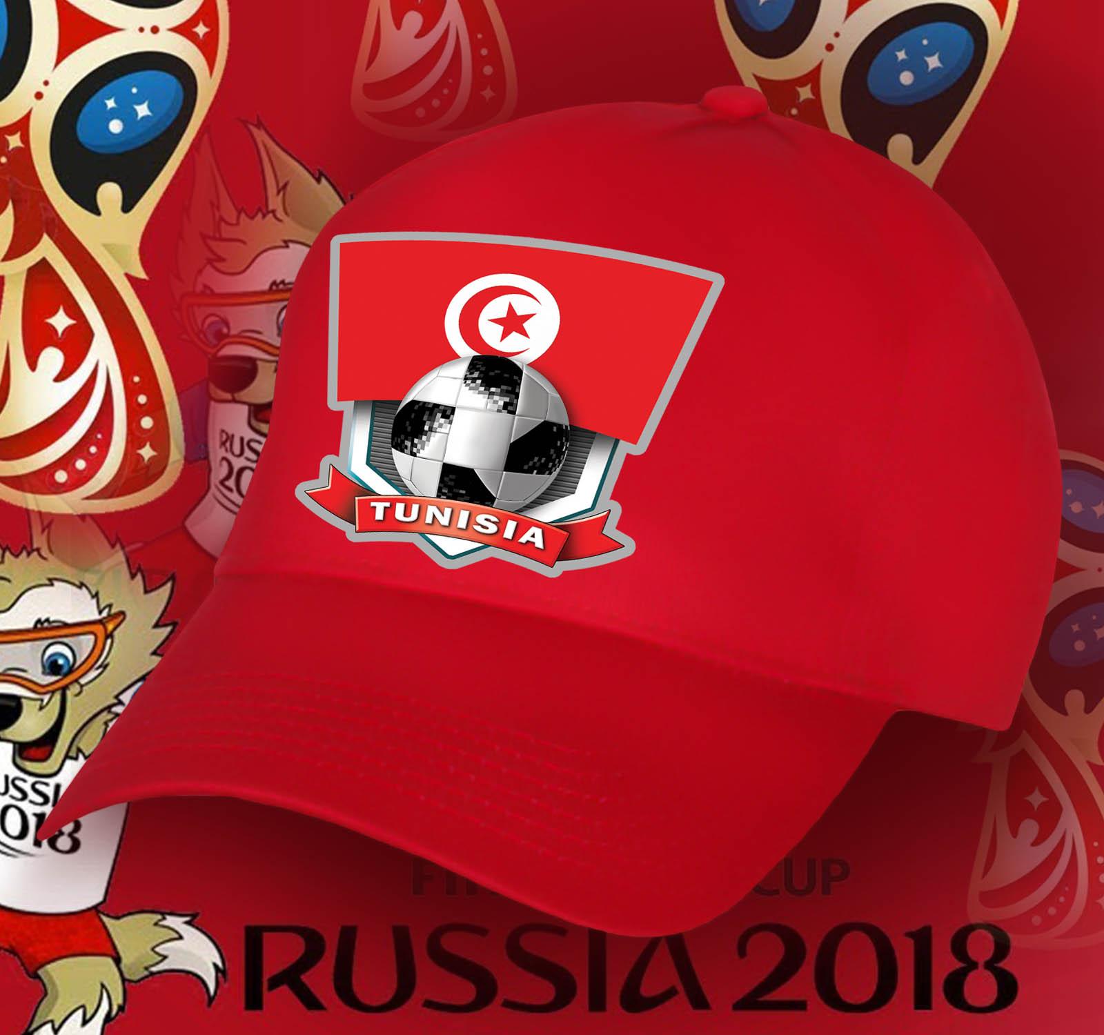 Летняя красная бейсболка сборной Туниса