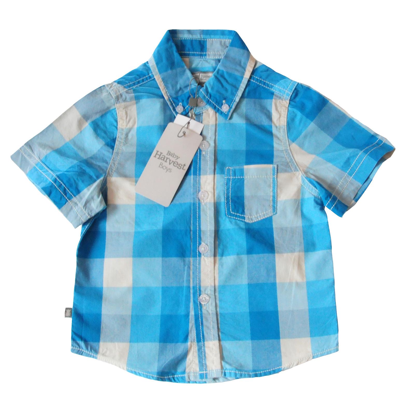 Летняя рубашка Baby Harvest для мальчиков