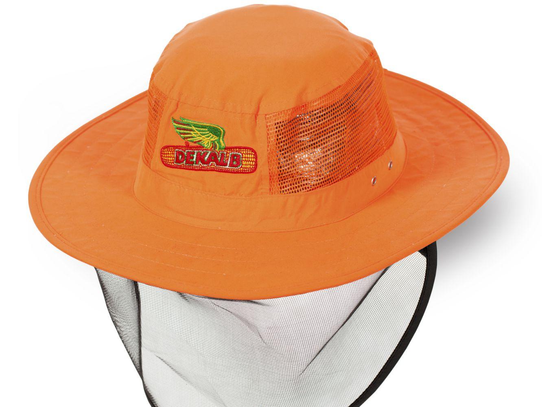 Летняя шляпа с защитной сеткой