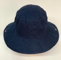 Летняя стильная панама с голубой подкладой