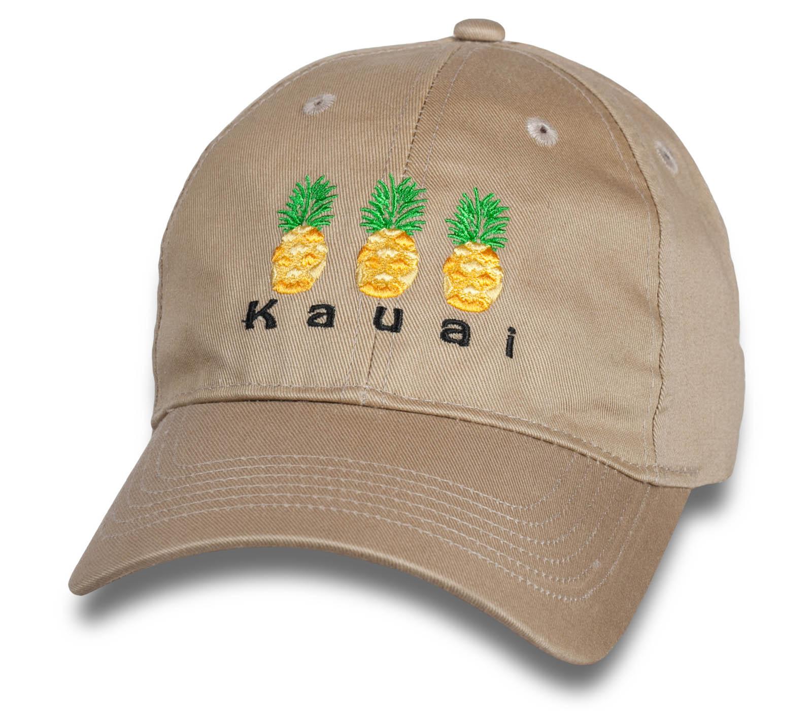 Летняя светлая бейсболка Kauai