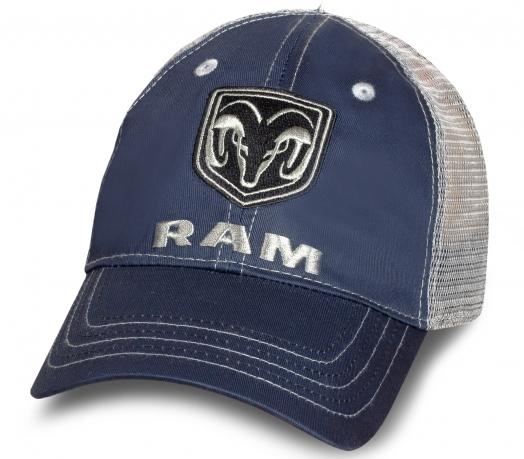 Летняя темно-синяя бейсболка RAM