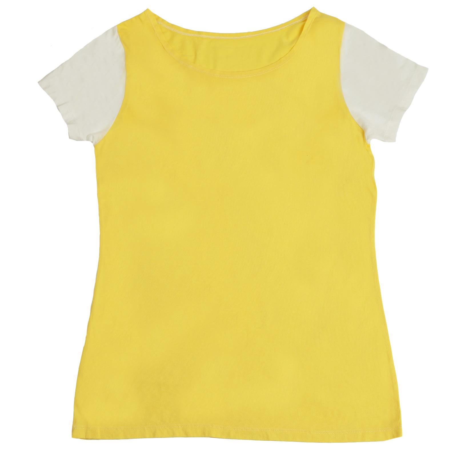 Летняя женская футболка для приятного отдыха на даче