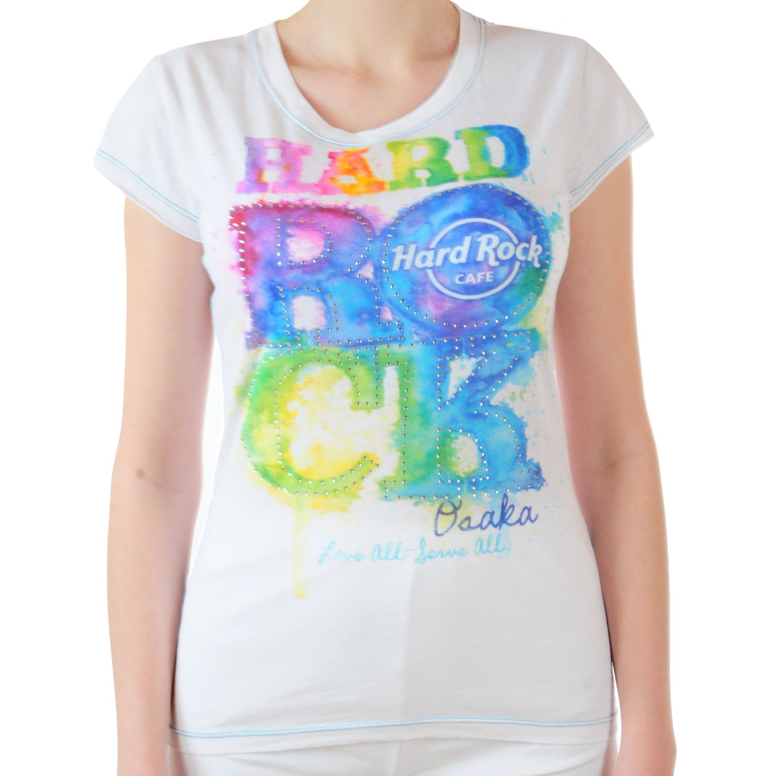Летняя женская футболка от Hard Rock® (Великобритания - США)