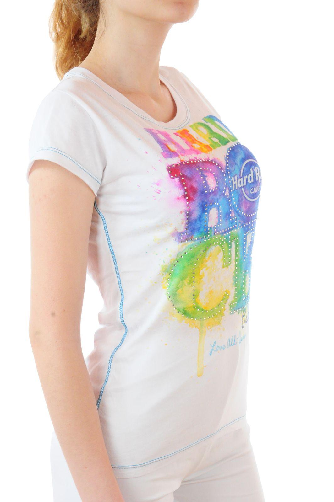Летняя женская футболка от Hard Rock® - вид сбоку
