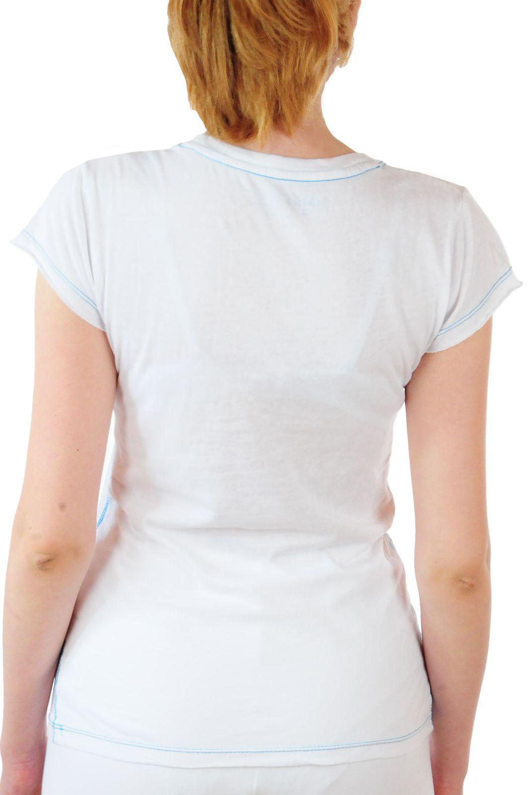 Летняя женская футболка от Hard Rock® - вид сзади