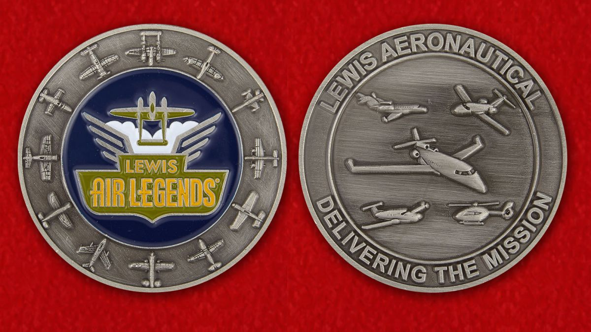 Lewis Air Legends - obverse and reverse