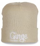 Лондонская шапка Ginge. Светлая модель для ценителей стиля