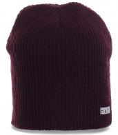 Лучшая брендовая шапка от Neff связанная в резинку спортивным парням