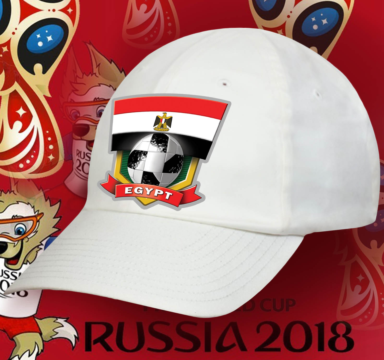Лучшая фанатская бейсболка сборной Египта