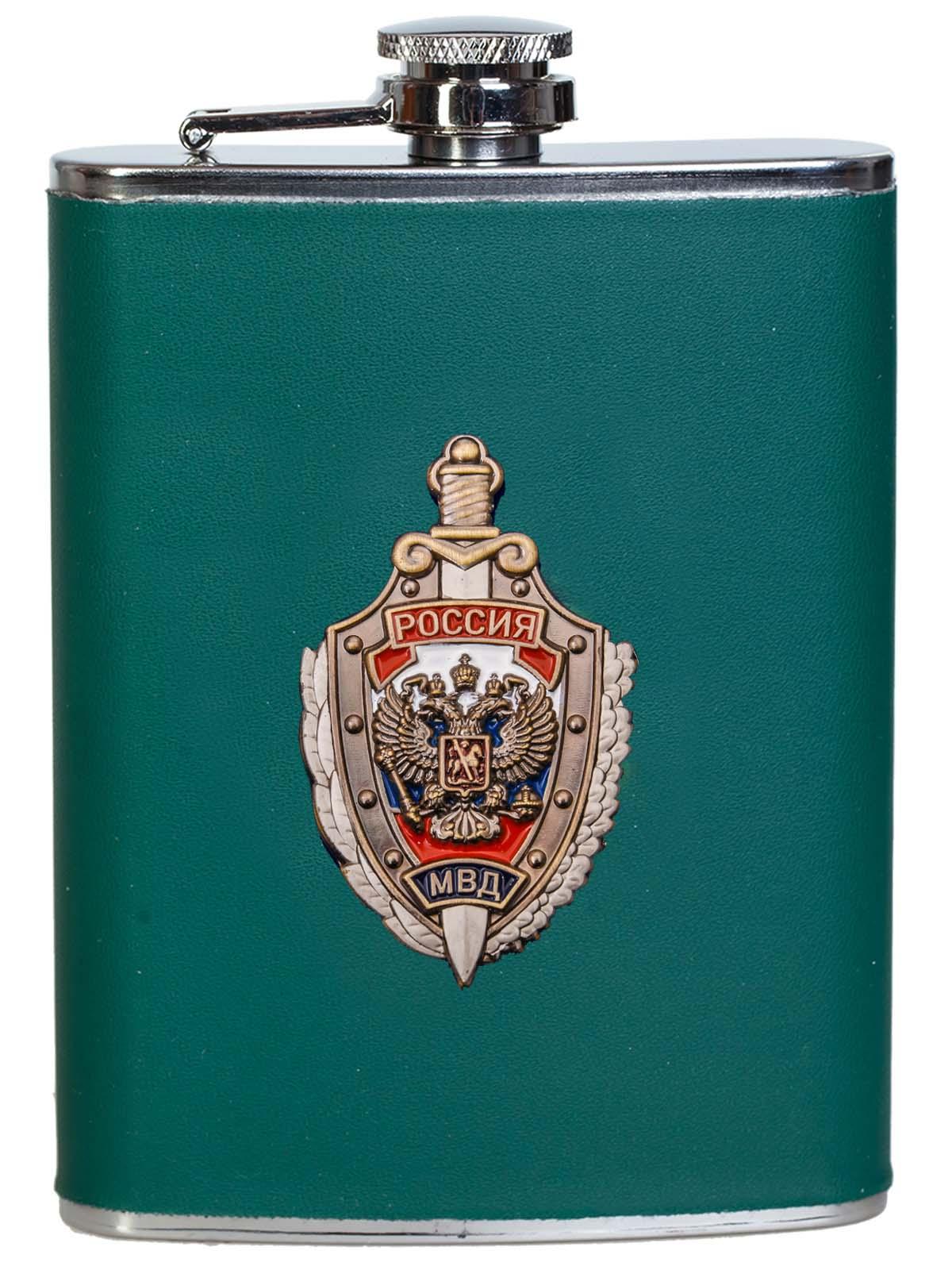 Лучшая фляжка-подарок сотруднику МВД России