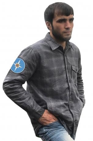 Лучшая рубашка с вышитым шевроном МЧС