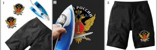 Лучшая термотрансферная картинка ФСИН России - купить оптом