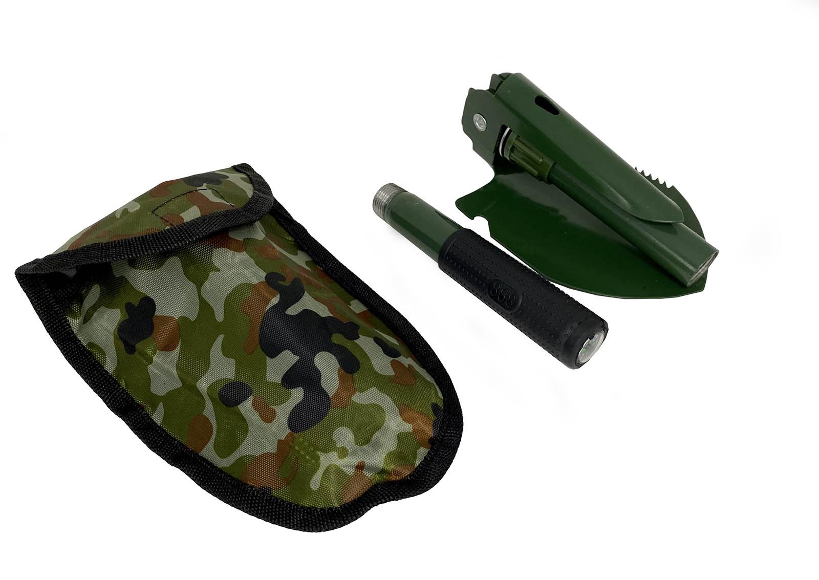 Военная лопата с защитным чехлом