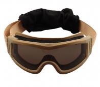 Лучшие тактические очки хаки-песок