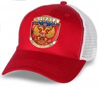 """Лучший подарок по любому поводу - стильная бейсболка """"Russia"""". Качественный головной убор в авторском дизайне. Гарантированно понравится!"""