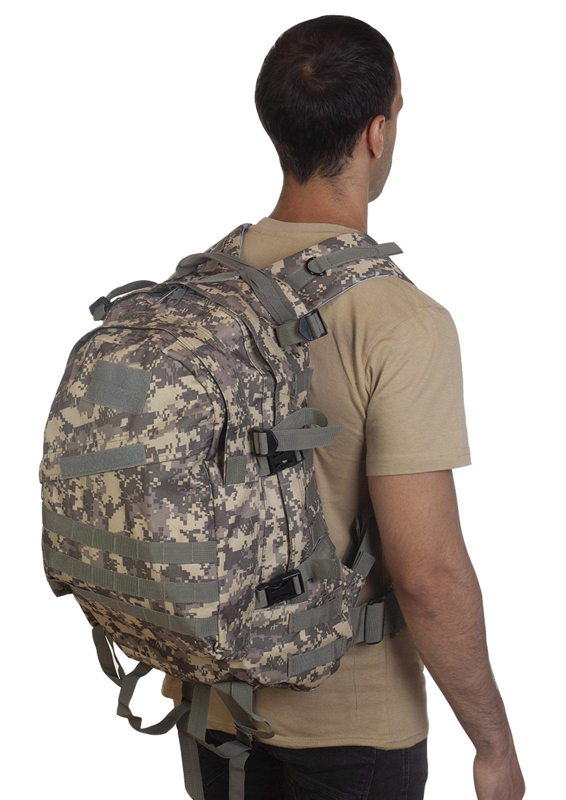 Лучший рюкзак для мужчин-любителей активного отдыха (камуфляж ACU) только в Военпро