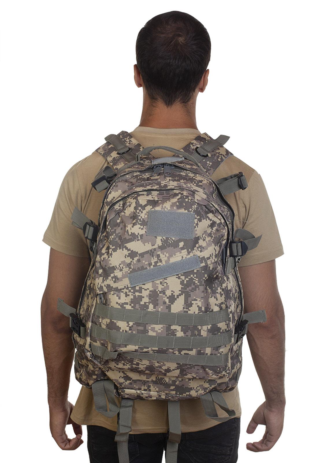 Лучший рюкзак для мужчин-любителей активного отдыха (камуфляж ACU)  оптом и в розницу