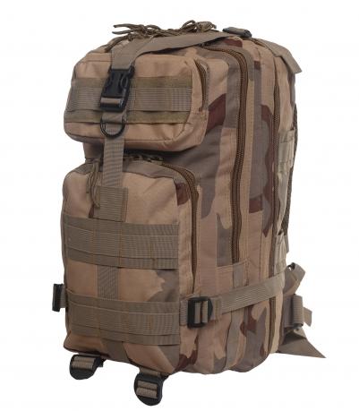 Лучший рюкзак для похода камуфляжа 3-color Desert