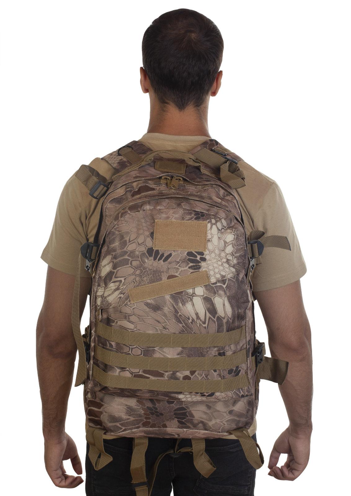 Лучший тактический рюкзак камуфляжа Krуptek - недорого