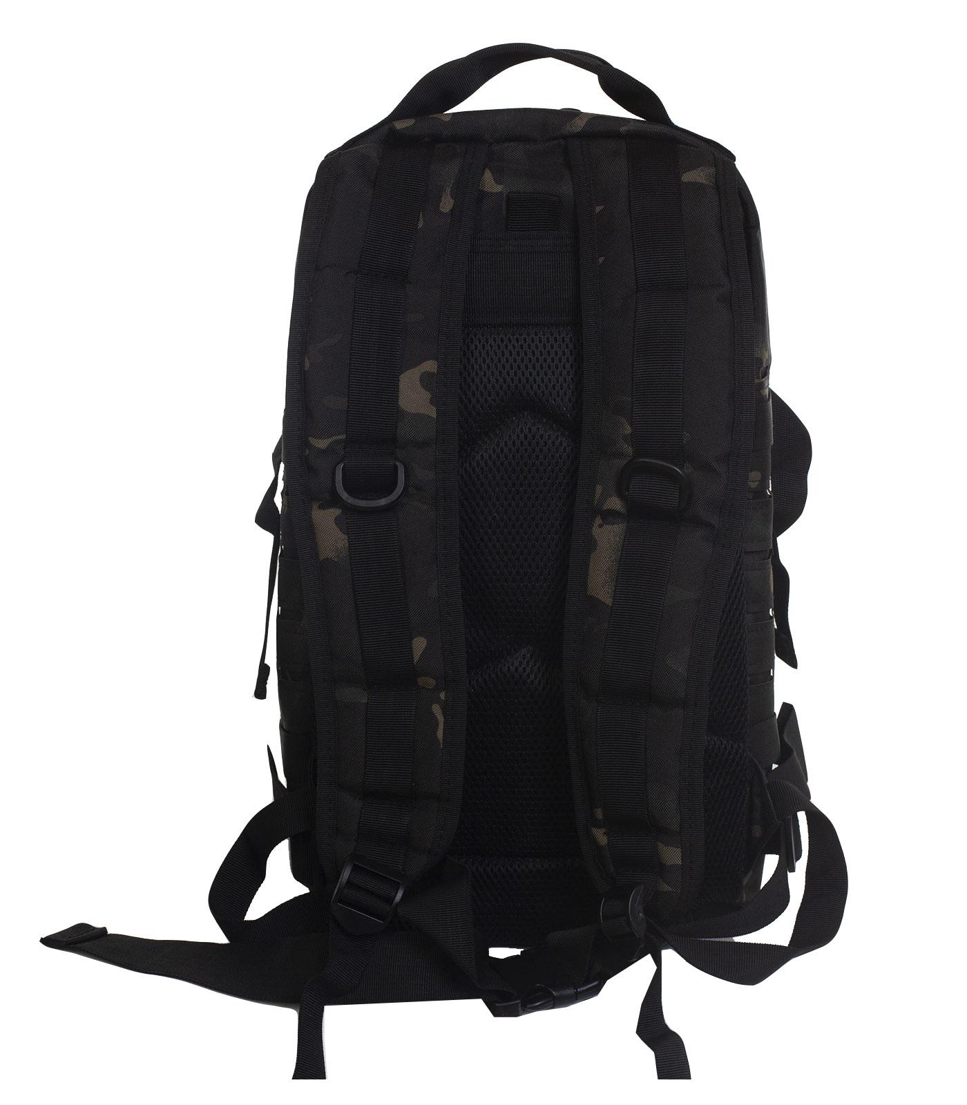 Лучший тактический рюкзак камуфляжа Black Multicam недорого