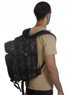 Лучший тактический рюкзак камуфляжа Black Multicam - оптом и в розницу