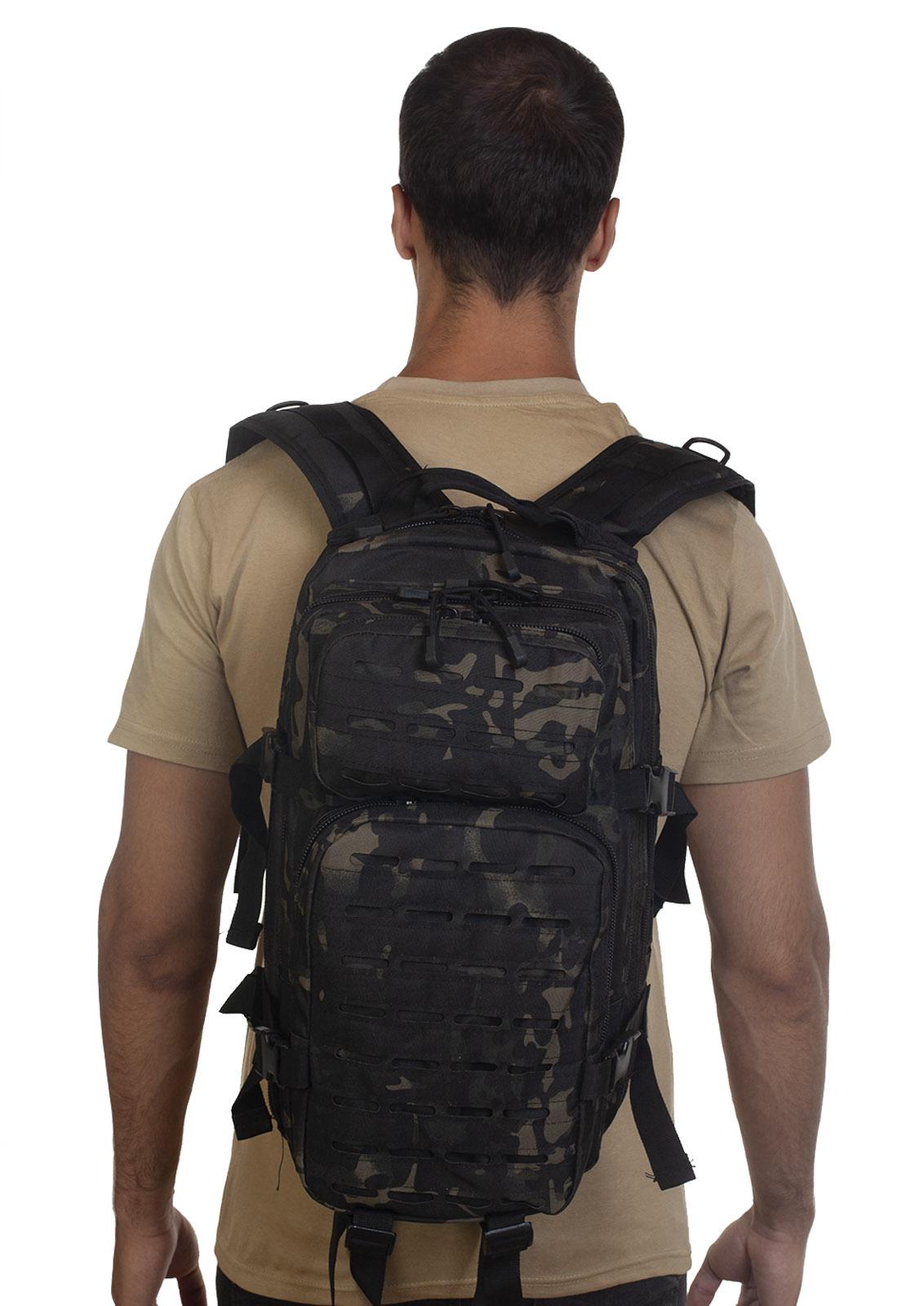 Лучший тактический рюкзак камуфляжа Black Multicam - только в Военпро