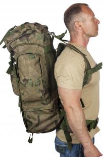 Полевой тактический рюкзак A-TACS FG Camo на 60 литров высокого качества