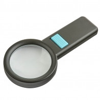 Лупа с 6-кратным увеличением с подсветкой 10 LED