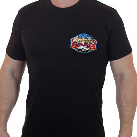 Люксовая футболка Военная разведка.