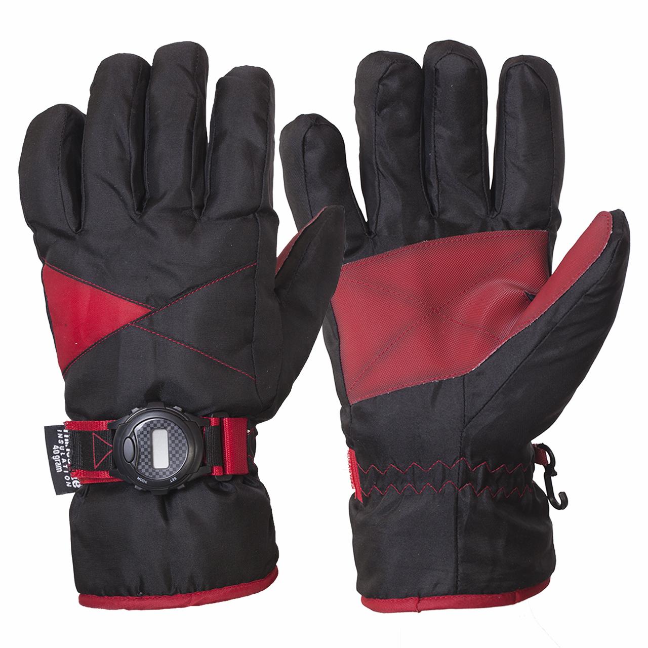 Хит продаж – лыжные перчатки с часами