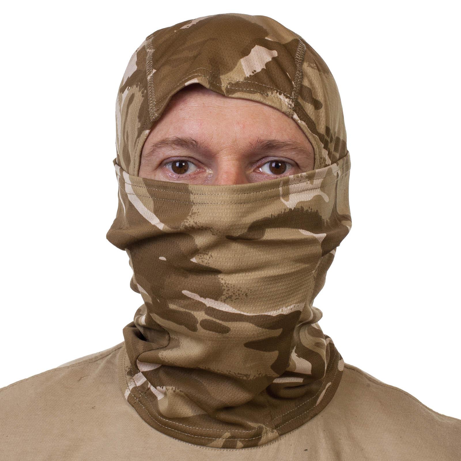 Камуфляжная маска балаклава с рисунком Lizard.