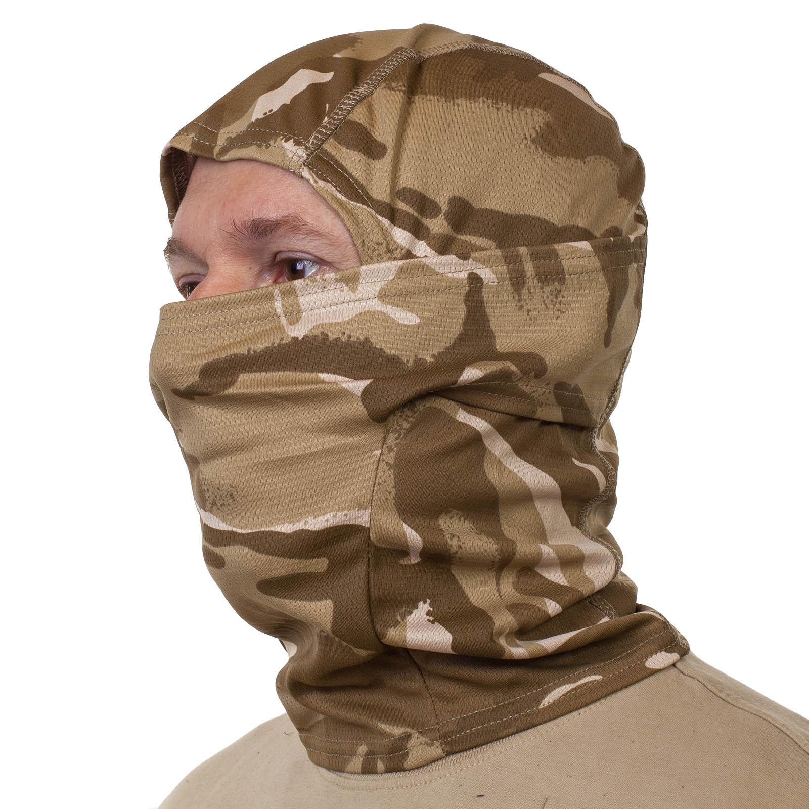 Купить в военторге камуфляжную маску подшлемник