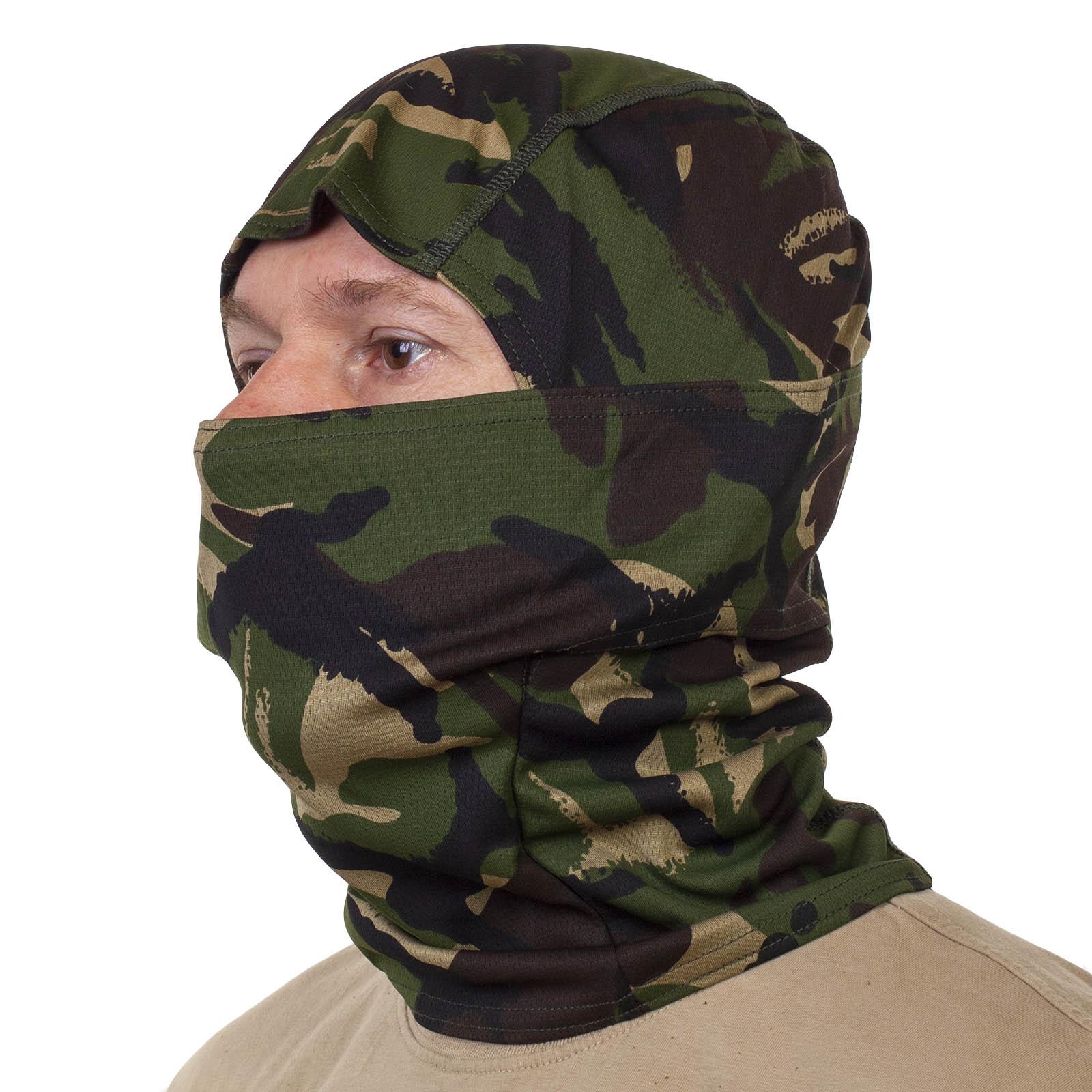 Купить в интернет магазине маску балаклаву в камуфляже Мультикам