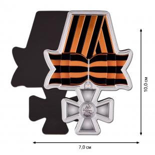 Магнит Георгиевский крест по выгодной цене
