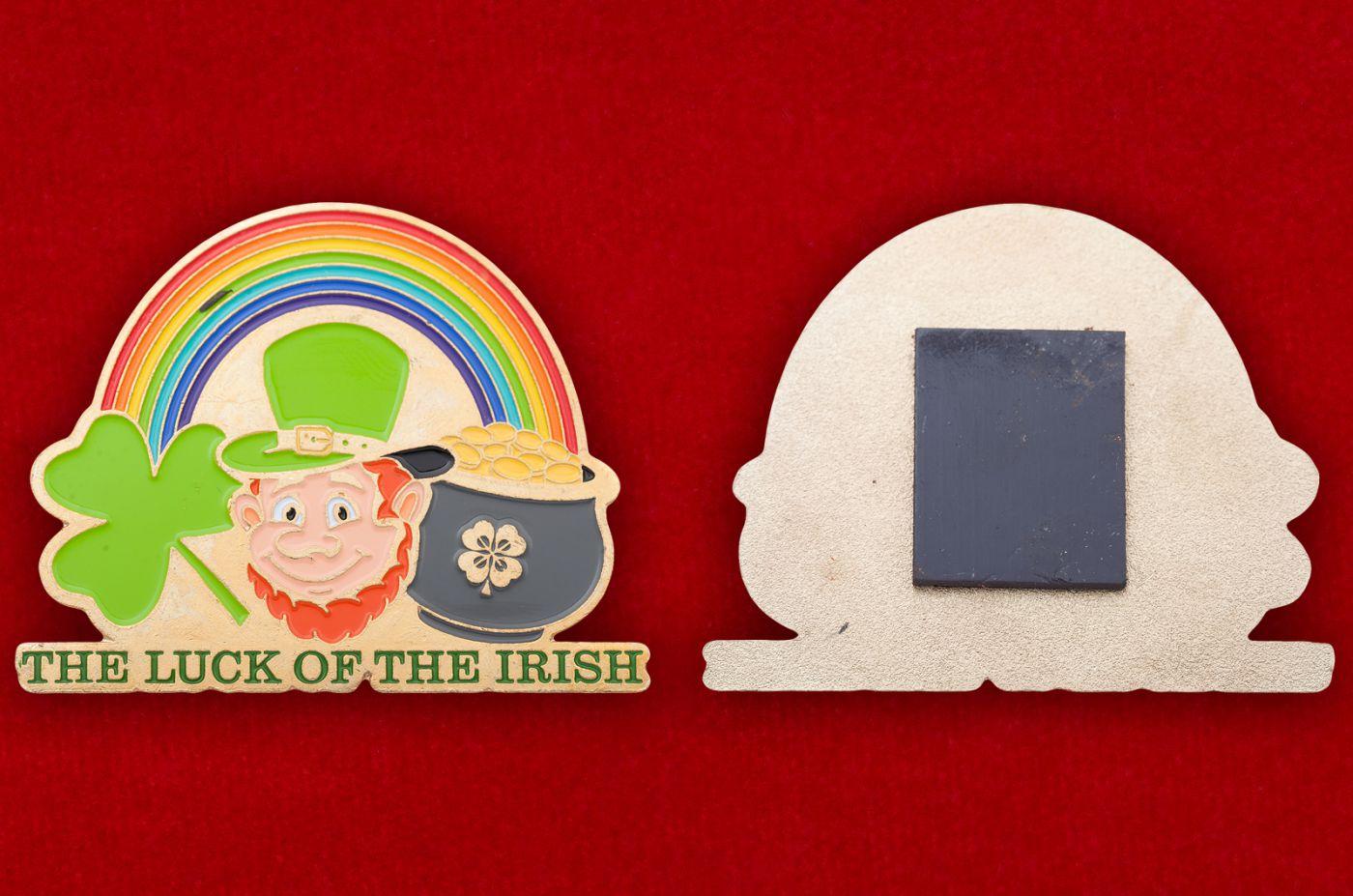 """Магнит """"Ирландский везунчик"""" - общий вид"""
