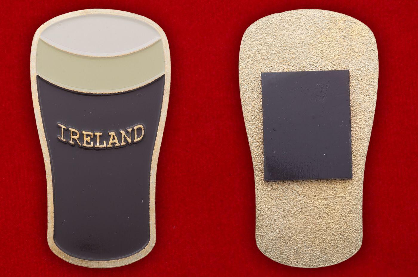 """Магнит """"Ирландское пиво"""" - общий вид"""